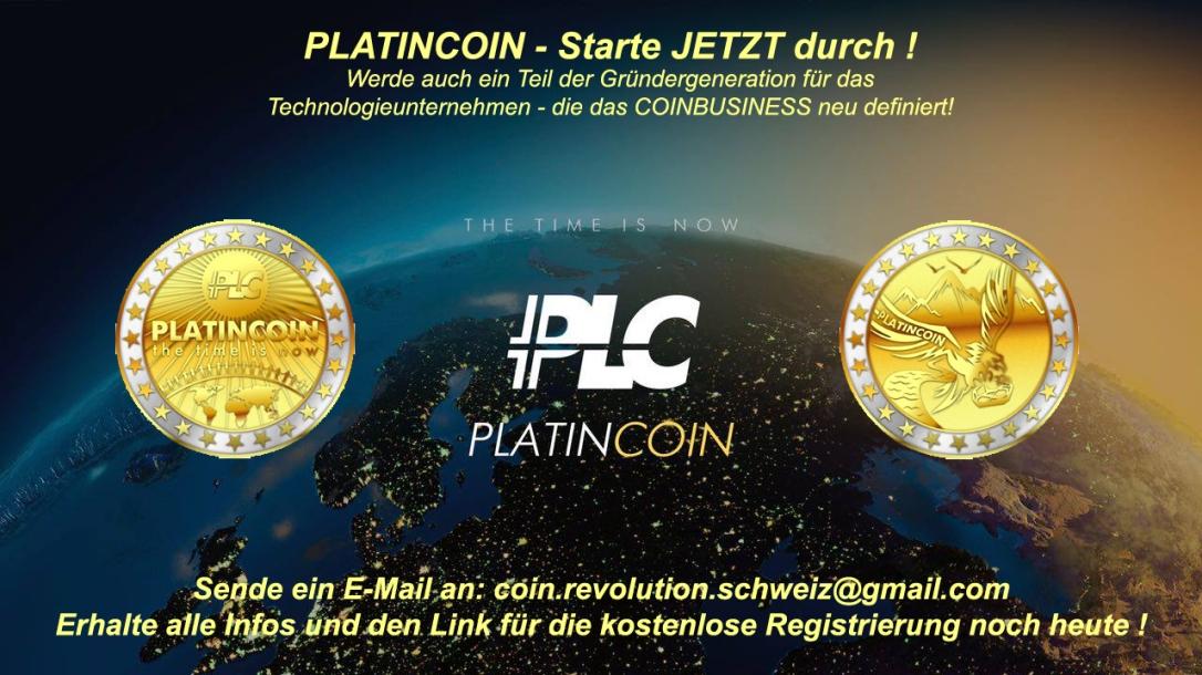 PlatinCoin PLC-GROUP coin.revolution.schweiz@gmail.com