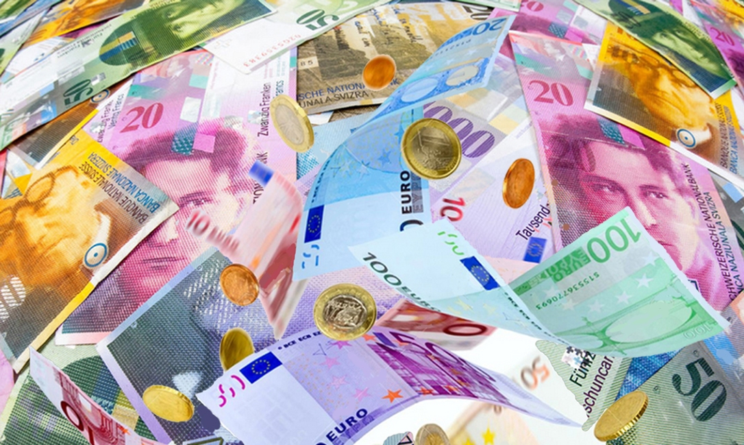 schweizer und Euro Noten