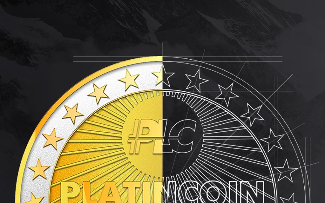 Platincoin logo - platincoinsite.blog