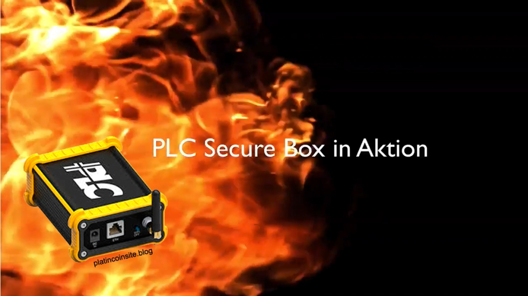 PLC Secure Box live in Aktion platincoinsite.blog