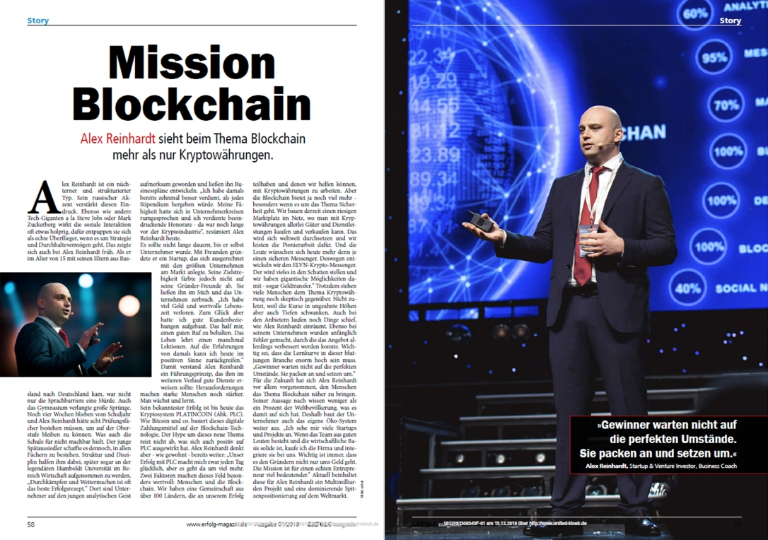 erfolg.de mission blockchain platincoinsite.blog