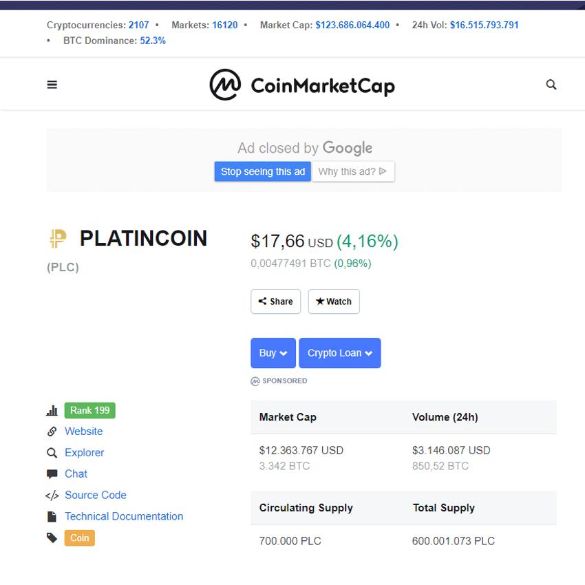 coinmarketcap 01-15-2019-09.27 olatincoinsite.com