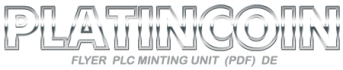 platincoin-minting unit de