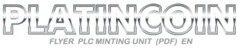 platincoin-minting unit en