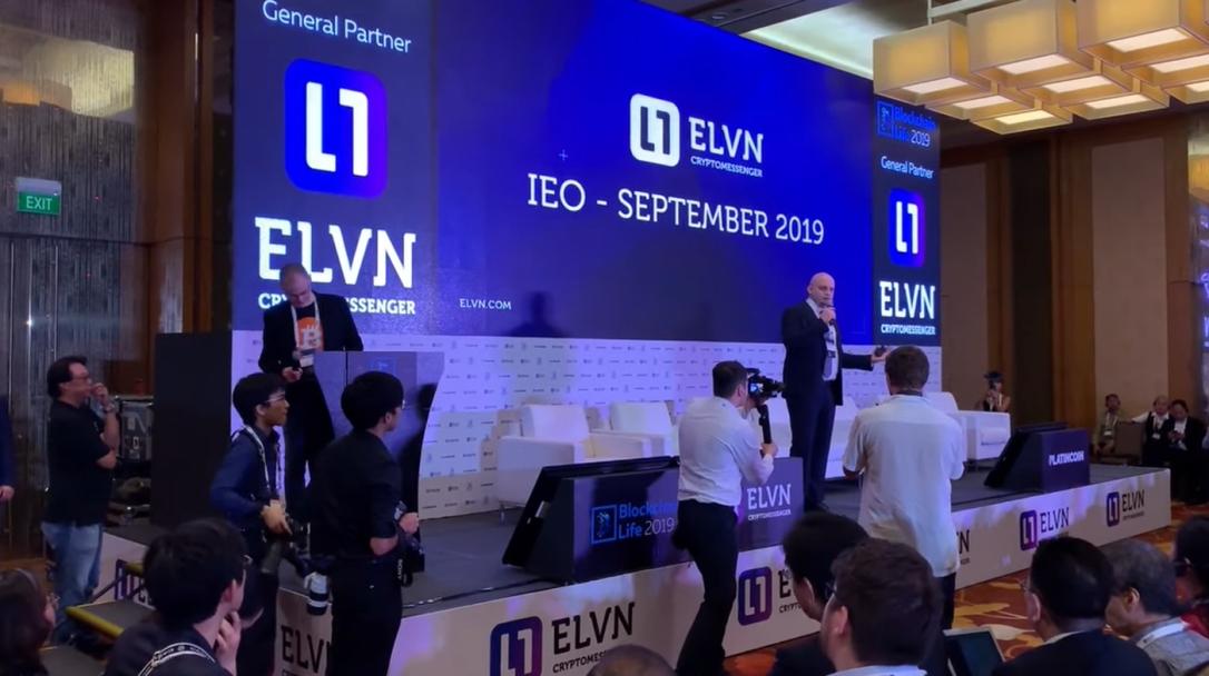 ELVN IEO platincoinsite.blog