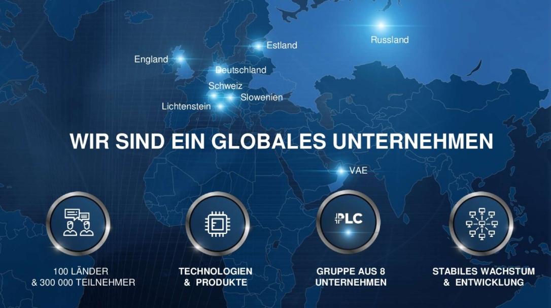Globales Unternehmen Platincoin 2019