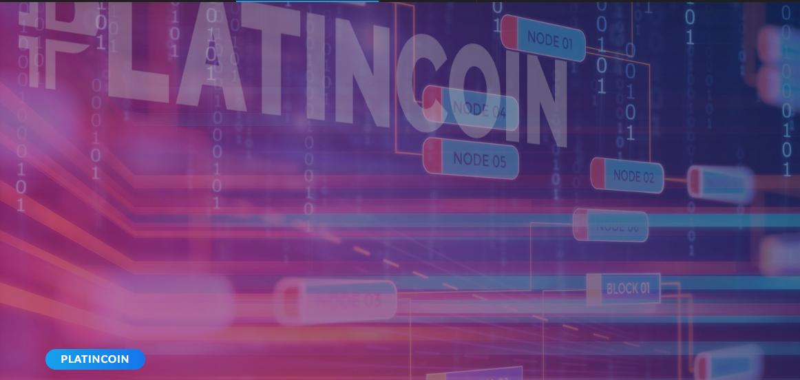 platincoin – blockchain-plc.com – Nach dem Update wird der Minting-Prozess im Dashboard und im Block-Explorer angezeigt